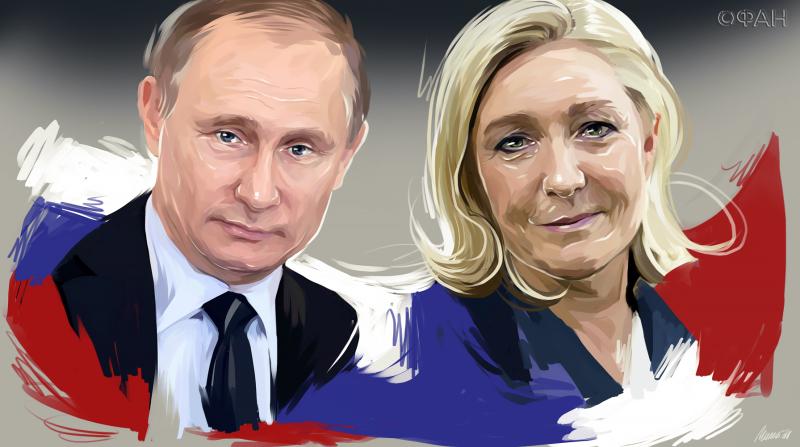 Сигнал Европе: повлияет ли встреча Путина и Ле Пен на выборы во Франции