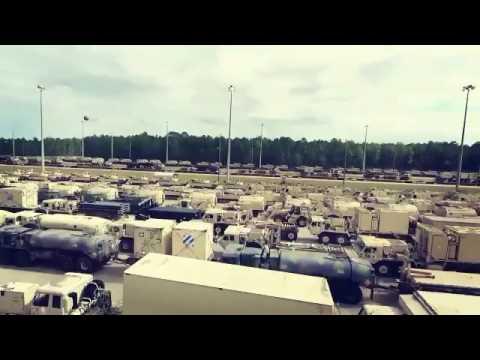 Американец заснял состав с танками до горизонта: с кем собрались воевать США?