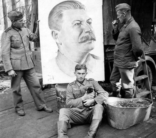 Чем немецкие солдаты шокиров…