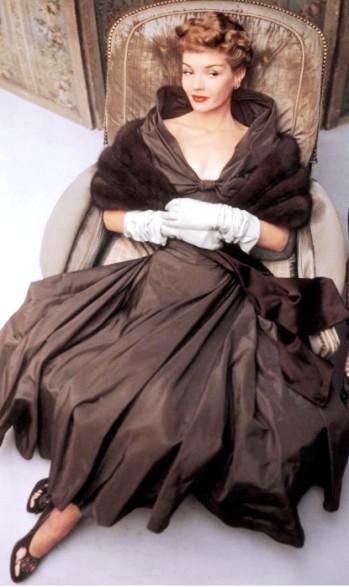 Так выглядел послевоенный гламур  — шикарные образы из модного глянца конца 40-х