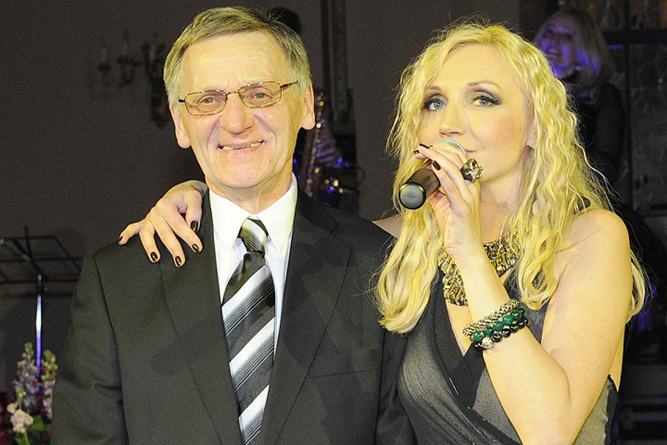Кристина Орбакайте с отцом Миколасом.