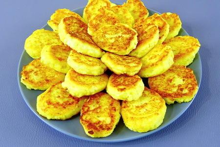 Фото к рецепту: Сырники из картошки и творога