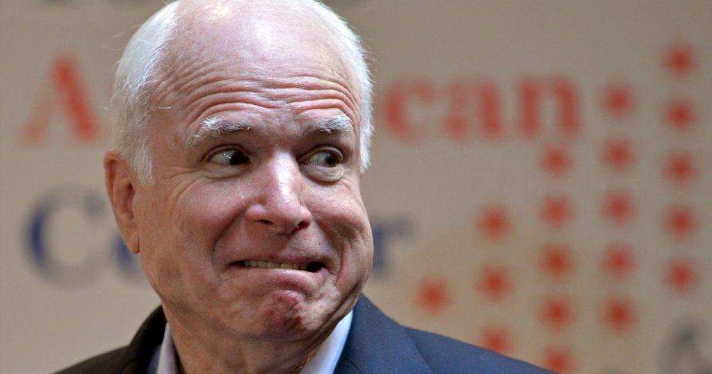 «Ущербный старец»: Тимакова приложила Джона Маккейна