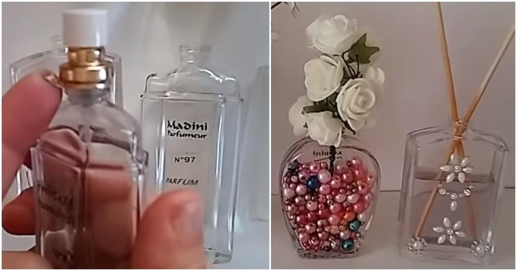Необычная переделка парфюмерного флакона