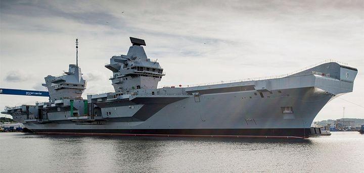 СМИ: Новейший британский авианосец будет беззащитен перед российской ракетой