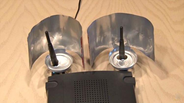 Усилить сигнал роутера в домашних условиях