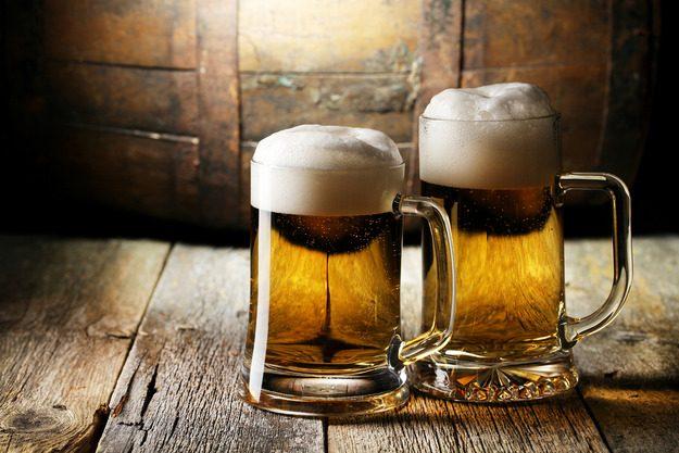 Пиво не только внутрь!