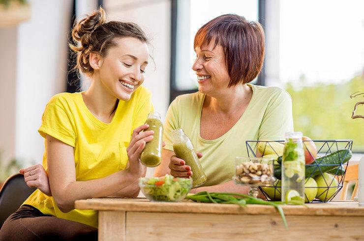 Что нужно менять в питании с возрастом?