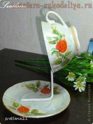 Мастер-класс по декорированию: Цветочные чашечки