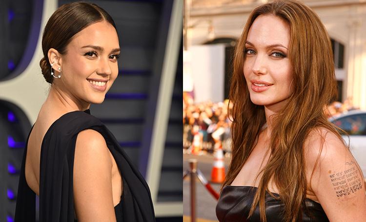 Имя - это скучно: Джессика Альба, Анджелина Джоли и другие звезды, сделавшие необычные тату в честь своих детей