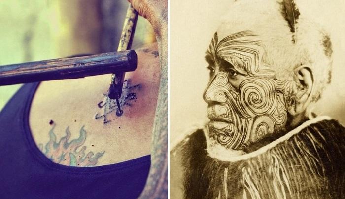 Татуировки: история нательного рисунка