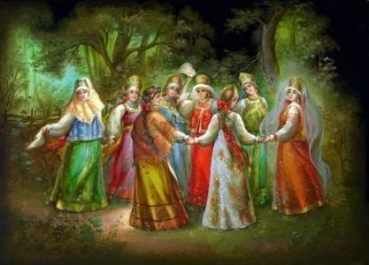 Русский народный танец – хоровод