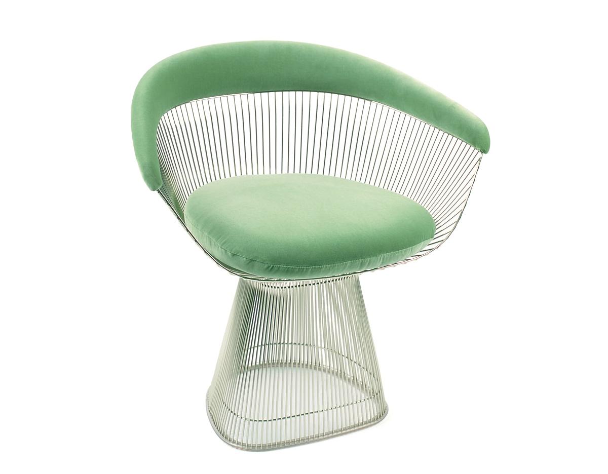 Современные дизайнерские стулья: холодные оттенки