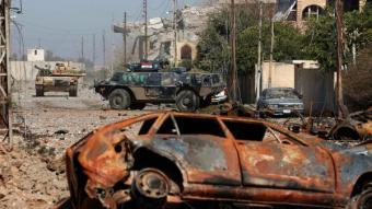 ОМОН гоняет НАТО под Мосулом