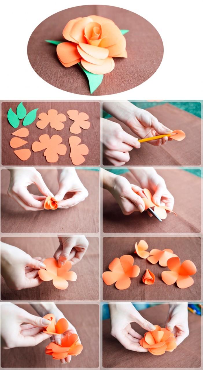 Из чего можно сделать красивые цветы своими руками 43