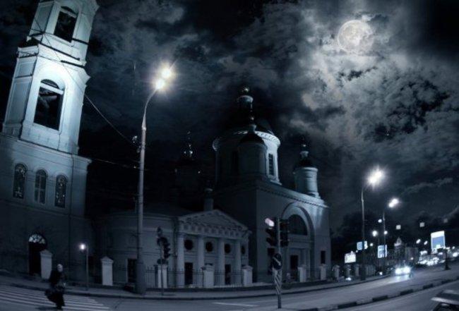 Мистические места в Москве