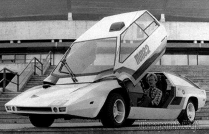 10 уникальных советских автомобильных концептов