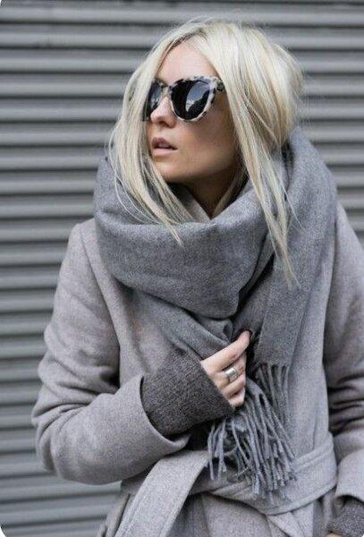 Модные шарфы: тренды, антитренды, как повязать