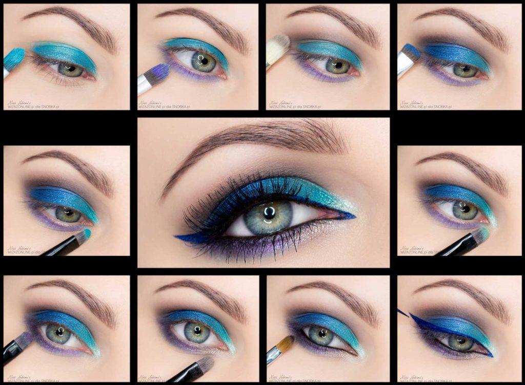 Красивый макияж и описание
