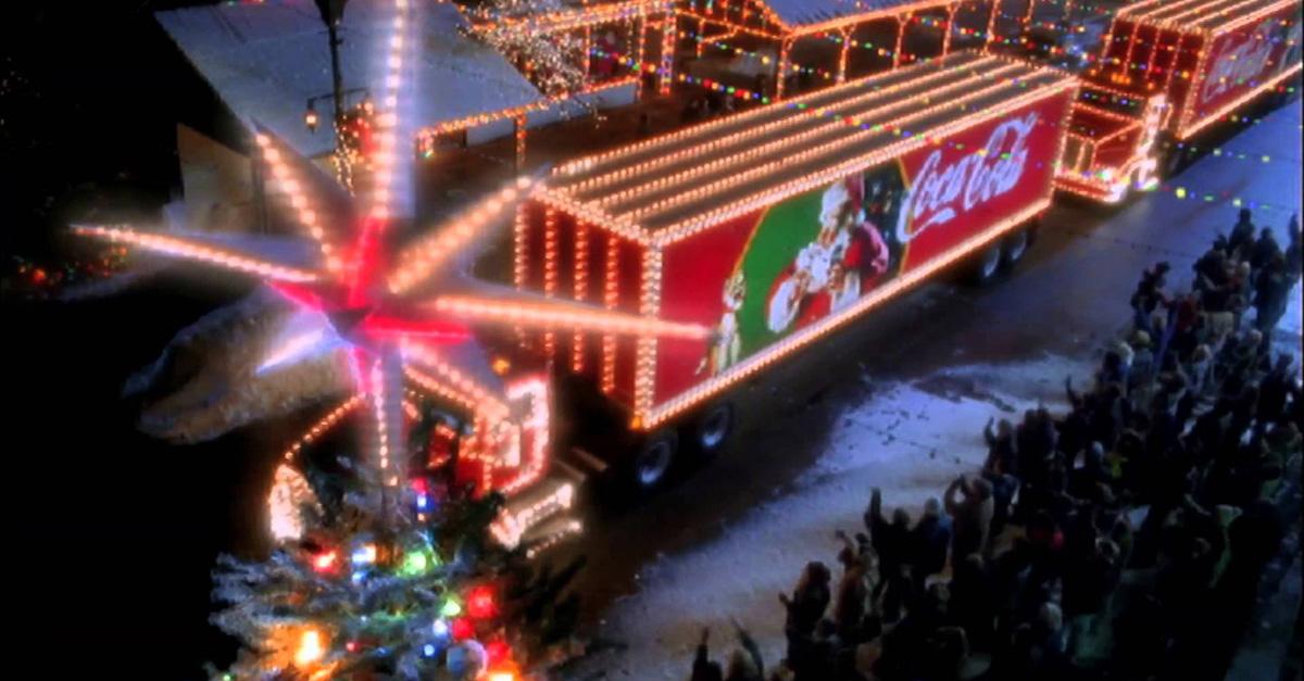 Рождественская реклама Coca-Cola вызвала недовольство в интернете
