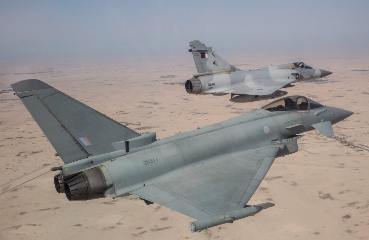Катар подписал контракт с Великобританией на приобретение 24 истребителей Eurofighter Typhoon