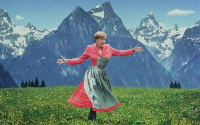 """Ангела Меркель и её """"баллады"""" об отношениях"""