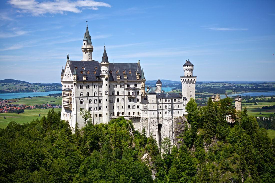 Самые красивые дворцы и замки Баварии