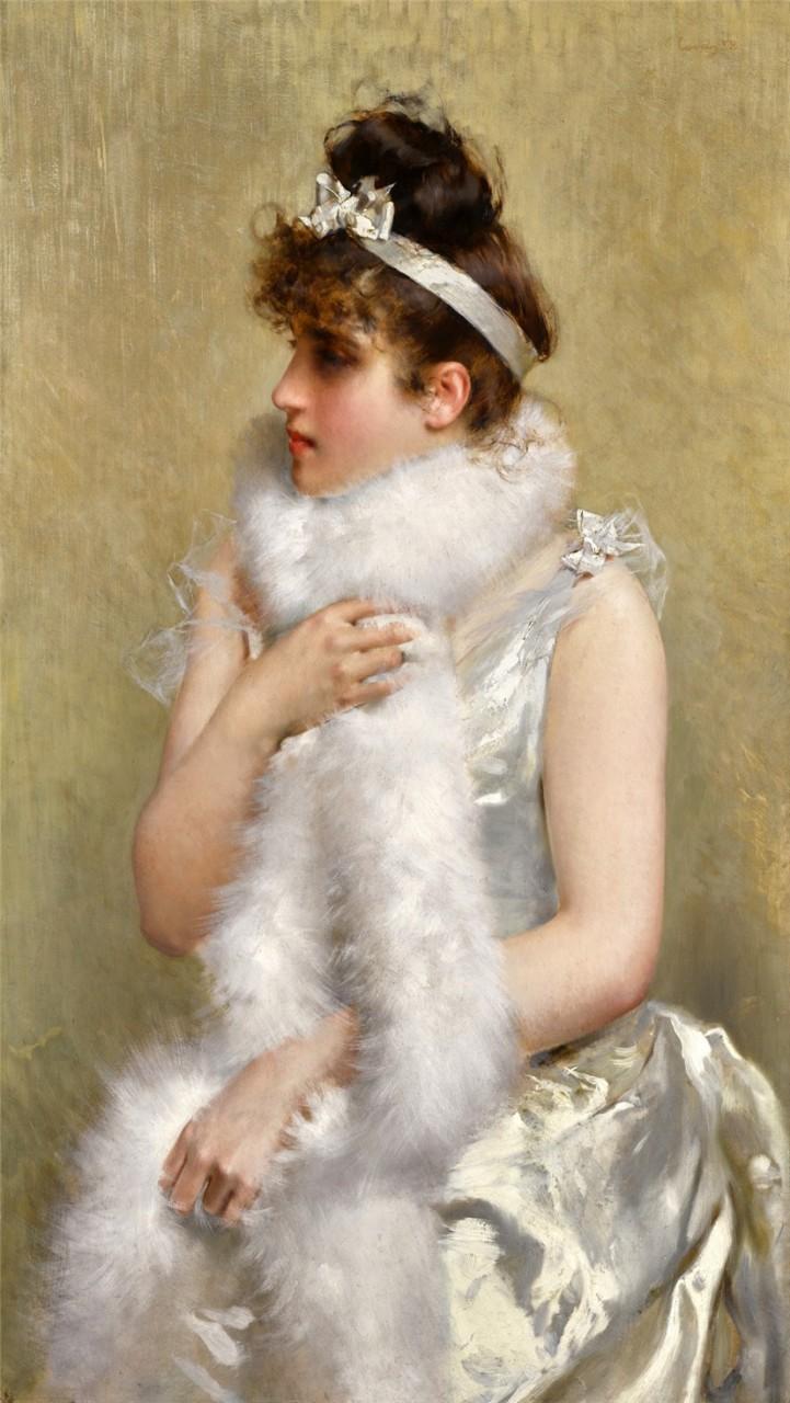 Витторио Маттео Коркосс и его  картины. Италия 1859–1933