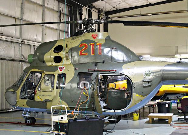 Вертолет Ми-2 оснастили системой дополненной реальности