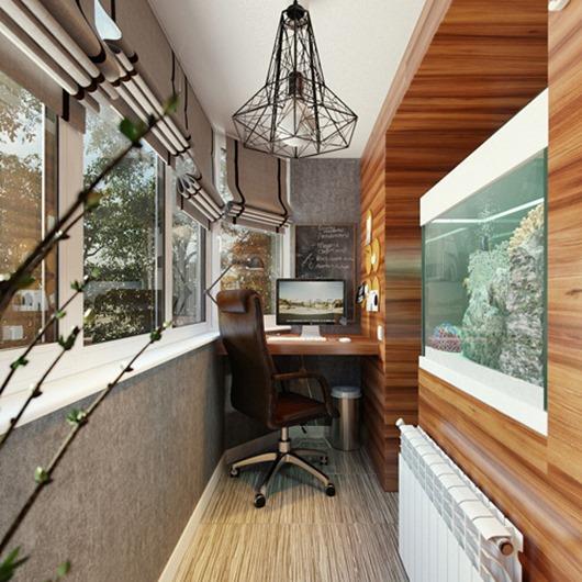 Декорируем балкон