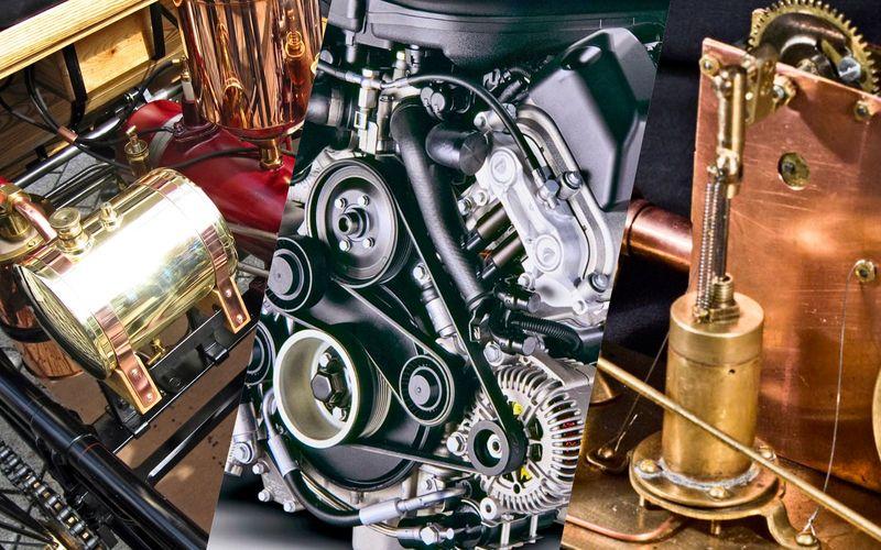 Знаешь ли ты автомобильные двигатели?