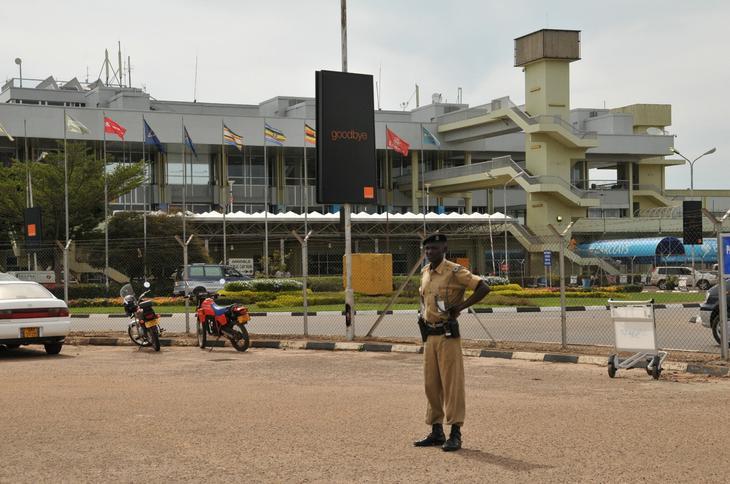Старый терминал аэропорта. 12 фактов об Уганде - жемчужине Африки. Фото с сайта NewPix.ru