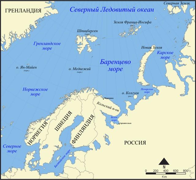 Ученые: Баренцево море скоро взорвется