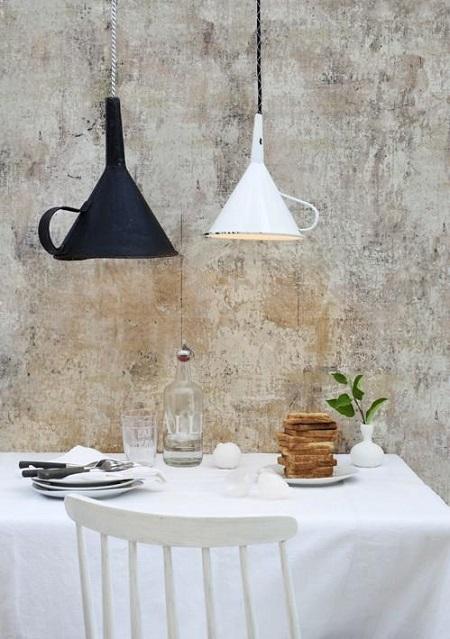 8 идей непривычного дизайна кухни: сделай мебель из посуды! Смотрится великолепно.