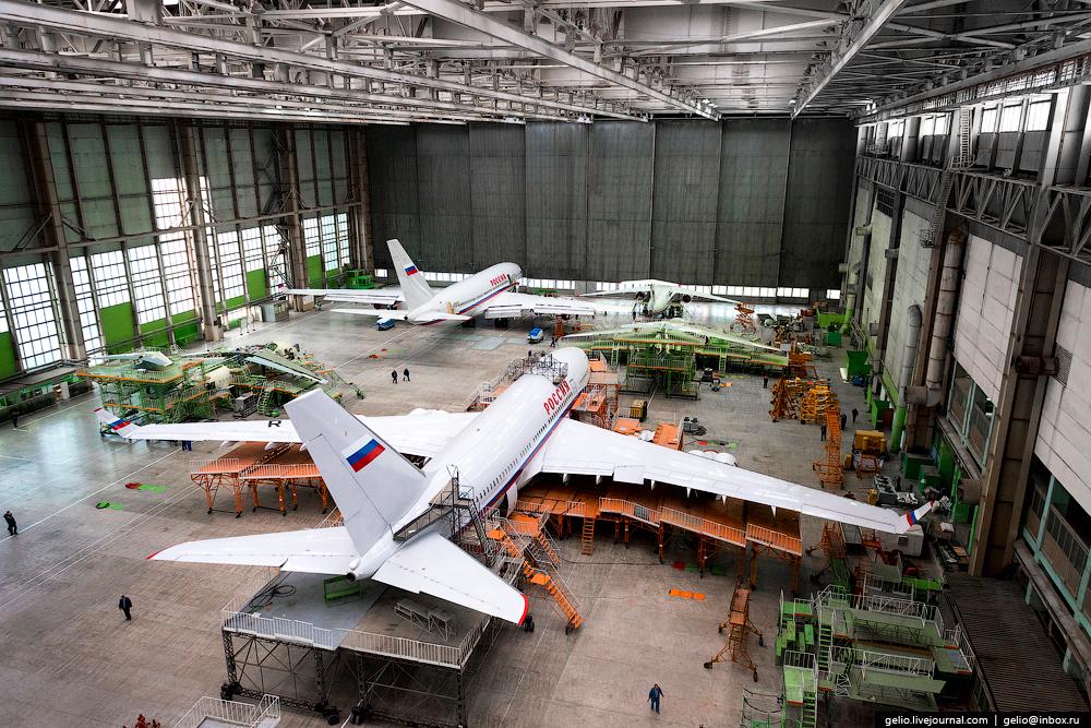 Производство самолётов Ил-96-300 и Ан-148 на ВАСО