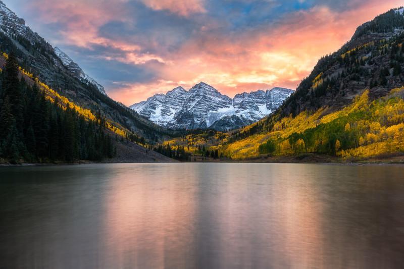 Марун Беллс, Колорадо  Северная Америка, путешествие, фотография