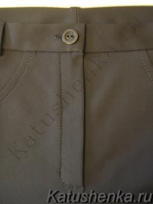 ШЬЕМ, ШЬЁМ, ШЬЁМ... Обработка неотрезного гульфика в женских брюках