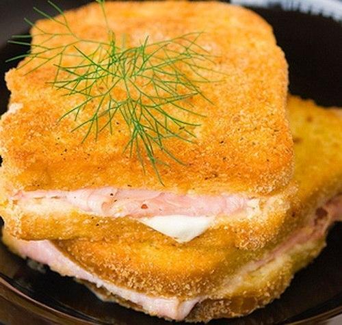 Горячий бутерброд в рубашке