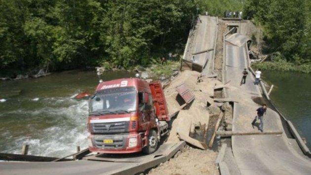 Украина очутилась в самом хвосте мирового рейтинга качества дорог