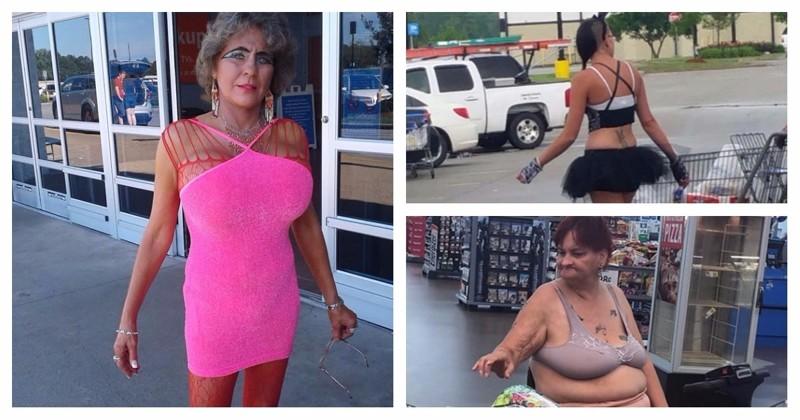 Спятившая Америка или чокнутые покупатели американских супермаркетов (22 фото)