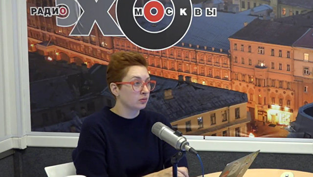 """Иностранец ударил ножом в шею журналистку """"Эха Москвы"""" прямо в студии радио"""