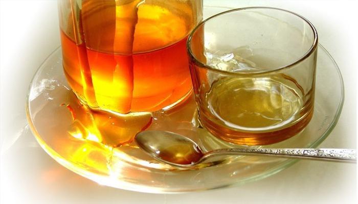 Мёд + холодная вода