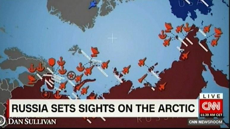 CNN: в арктической гонке Россия оставила США далеко позади