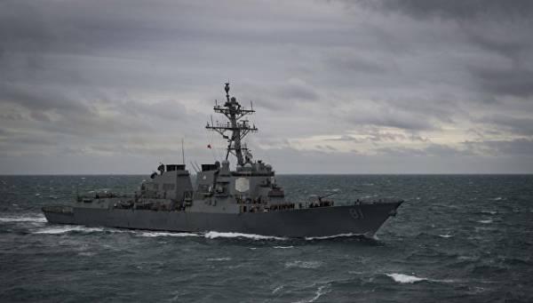 Американский эсминец «бросил вызов» Тихоокеанскому флоту РФ