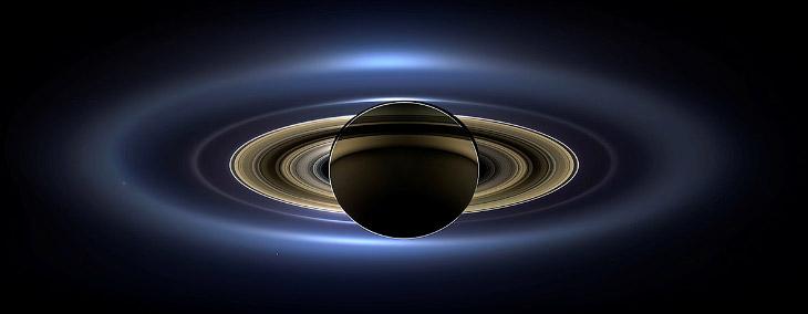 В объективе - Сатурн!