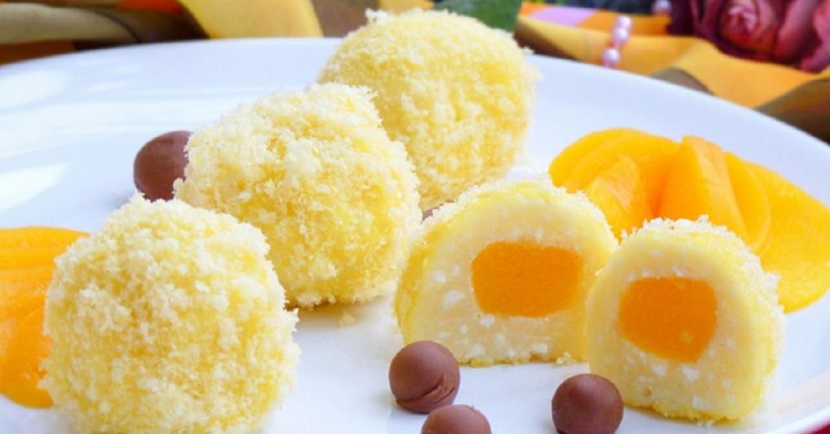 Изумительный десерт «Творожные солнышки»