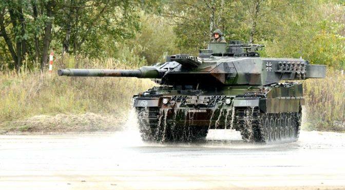 «Леопард-2» в Сирии горит не хуже «Абрамсов» в Ираке