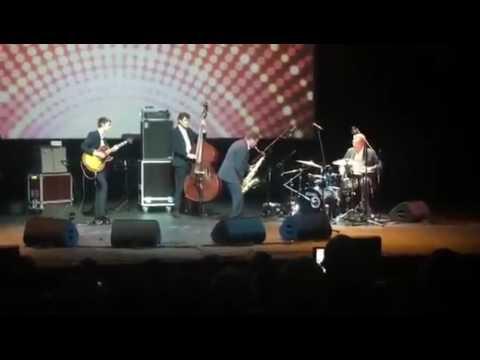 Алексей Кудрин выступил в роли ударника на джазовом концерте