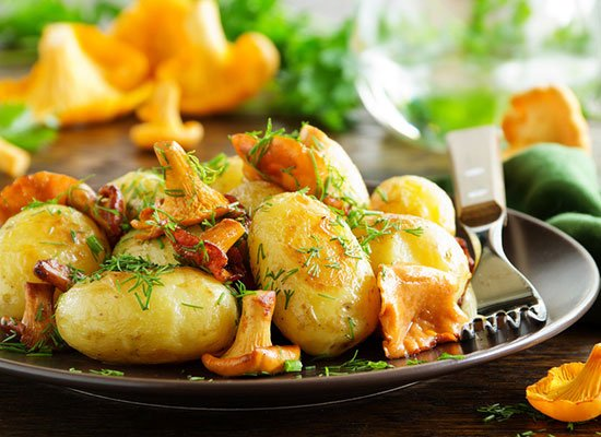 Detox Rezept: Gemischte Pilze mit Petersilienkartoffeln | cooknsoul.de