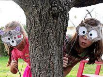 Четыре карнавальные маски для детей: шаблоны и инструкция